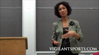 Sage Steele of ESPN speaks at Indiana University Part 1 - Feb. 11, 2011
