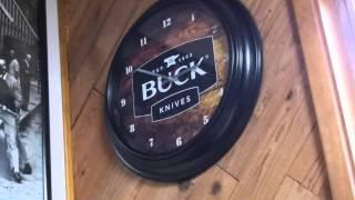 Buck Wall Clock Video
