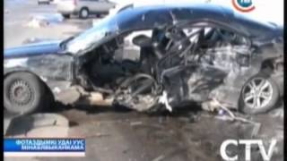 В Узденском районе столкнулись 2 легковушки.(, 2013-03-29T10:00:12.000Z)