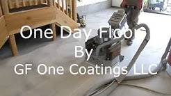 GF ONE COATINGS - One Day Garage Floor Installation