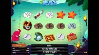 видео Игровой автомат Пляж от компании NetEnt играть онлайн