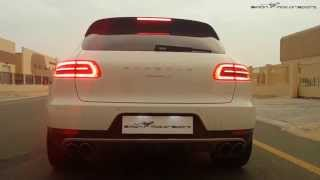 Porsche Macan S with GMG Racing Exhaust by Simon MotorSport Dubai