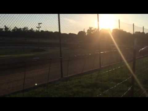West Siloam Speedway FWD heat (trackside 7//4/14)