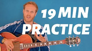 Guitar Practice Routine | 19 min Daily