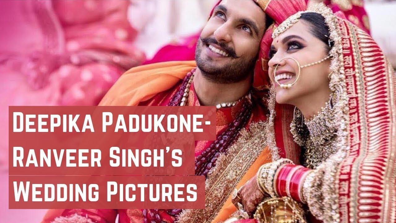 Deepika Padukone Ranveer Singh S Wedding Pictures Youtube