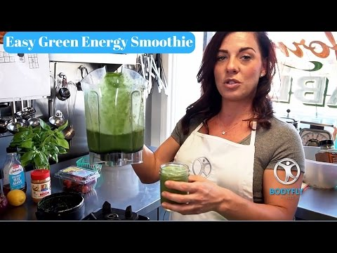 Easy Green Energy Smoothie