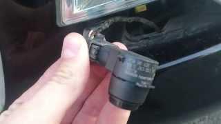 Parking sensor is faulty