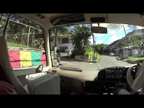 Driving through Grenada January 2015 (Time Lapse)