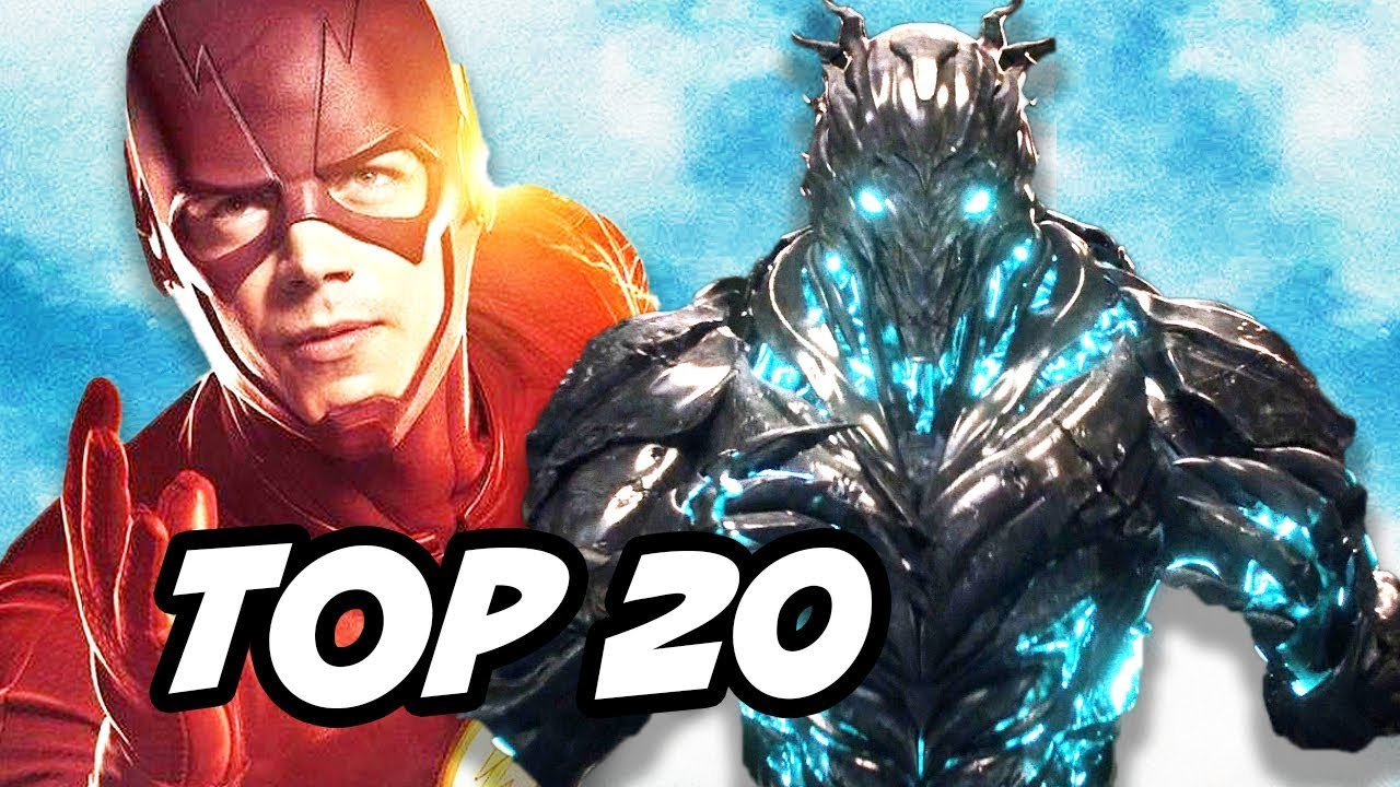 The Flash vs Savitar TOP 20 Fastest Flash Speedsters Explained