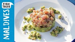 Tuna Tartar & Avocado Salad | Bart's Fish Tales