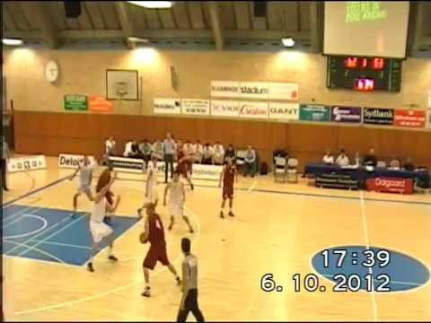 Brenton Butler #14 (White Jersey) vs. SISU (1G Sports)
