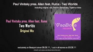 Paul Vinitsky pres. Alien feat. Ruma - Two Worlds (Original Mix)