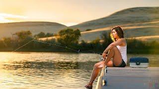 Девушки на рыбалке 2020
