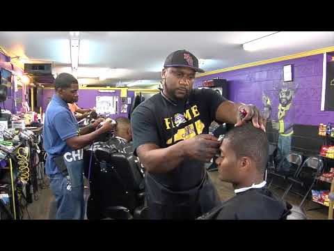 Cops And Barbers Program: Greenville, NC