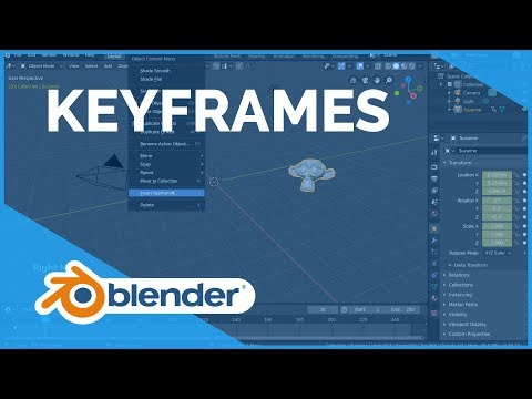 Keyframes - Blender 2.80 Fundamentals from YouTube · Duration:  7 minutes 41 seconds