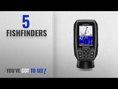 Top 10 Fishfinders [2018]: Garmin Striker 4 Bbuilt-in GPS Fish Finder