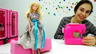 Одевалки #Барби👗 Шьем новое платье для куклы Барби. Мастерская #Барби.(Кукле #Барби нечего надеть! Что будем делать? Давай сошьем для куклы #Барби новое платье своими руками!..., 2017-02-21T06:50:35.000Z)