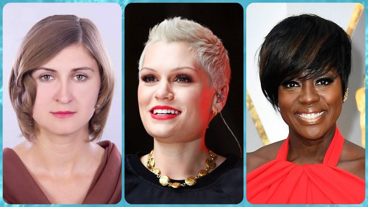 Die Fetzige 20 Ideen Zu Kurzhaarfrisuren Für Eckiges Gesicht Damen