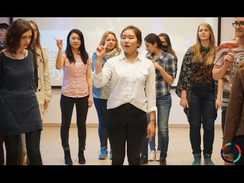 "Dancing 'Nobody"" by Wonder girls [Hanul No. 6 K-pop & Street dance in Korea] Vilnius, Lithuania"