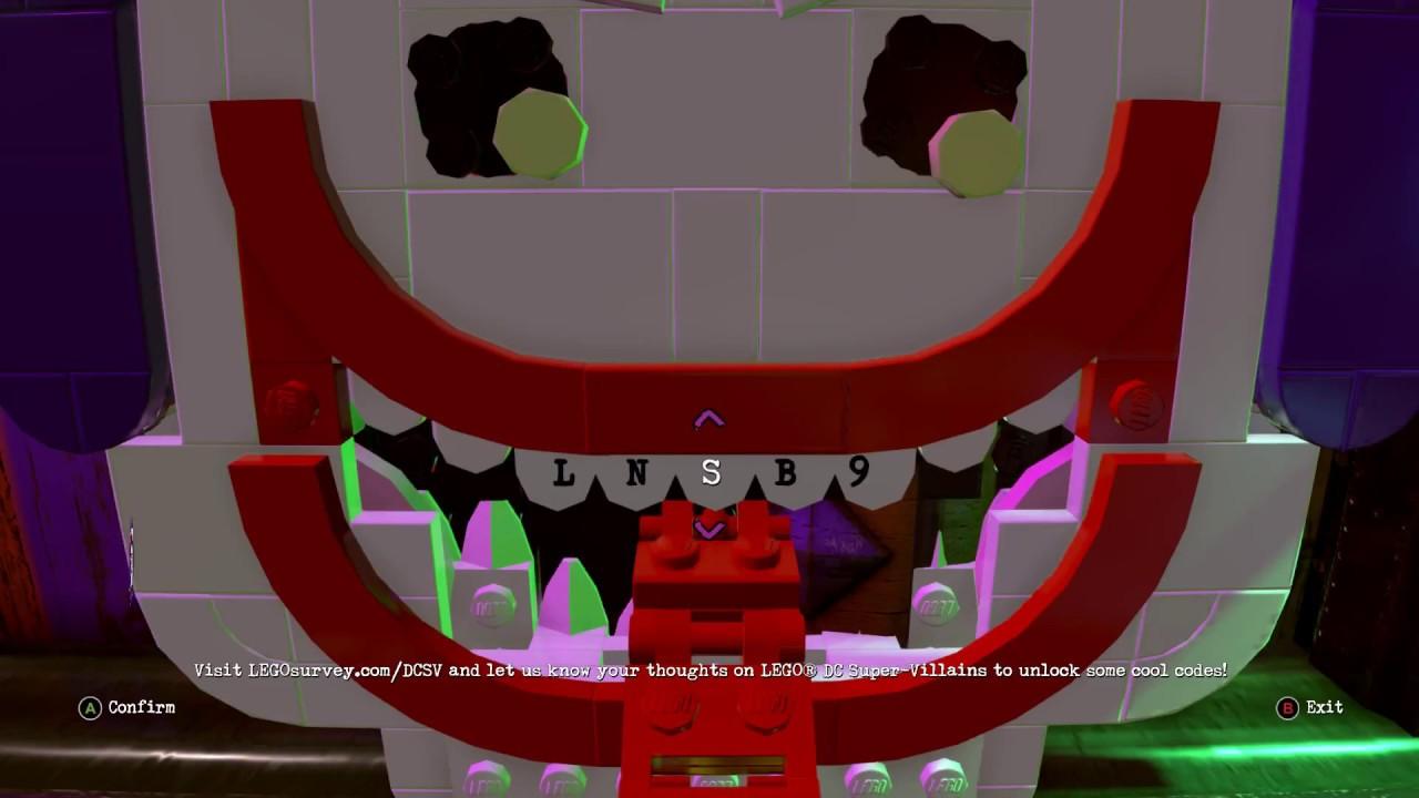 <b>LEGO DC Super Villains</b> All 27 Character Unlock <b>Codes</b> - (how to ...
