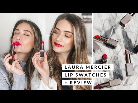 Laura Mercier Rouge Essentiel Lipsticks Review + Swatches | ALL 30 SHADES thumbnail