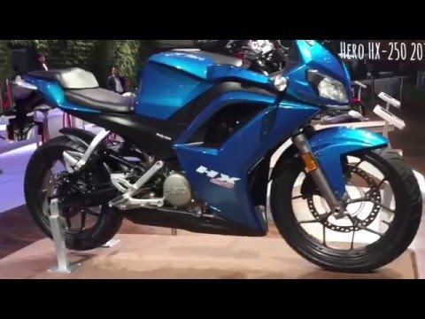 Hero HX250 Walkaround Video From 2016 Delhi Auto Expo