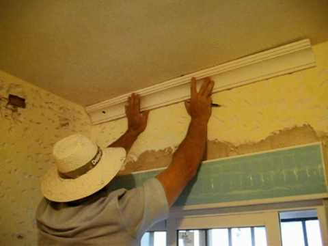 marcado de lneas en techo cmo colocar molduras de escayola