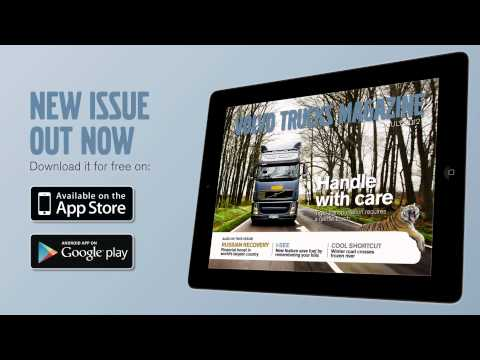 Volvo Trucks - New issue of the tablet magazine out now - feat. Carlene Carter