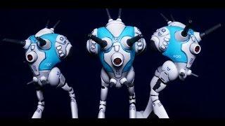 Painting Robotech Tactics Zentraedi Regult Battlepods