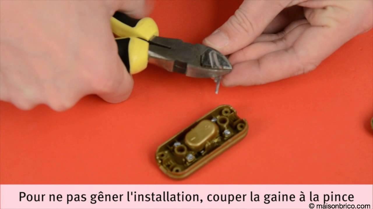 Installer un interrupteur bipolaire de fil souple youtube - Comment installer un interrupteur ...