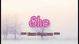 She - Elvis Costello (KARAOKE)