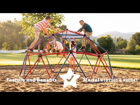 Lifetime 60'' Climbing Dome | Model 101301 & 90941| Features & Benefits Video