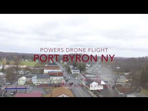 Port Byron NY Drone Flight