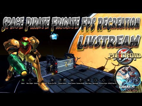 Metroid Prime 1 Space Level FPS ReCreation On Trials Livestream 02