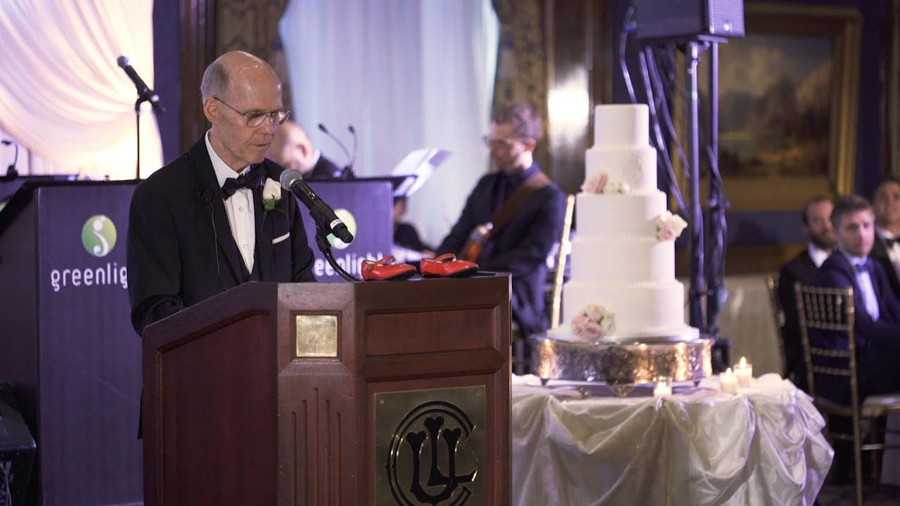 The Most Amazing Father Of The Bride Speech Ever Youtube