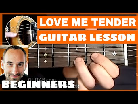 Love Me Tender Guitar Lesson - part 1 of 4