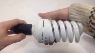 FOTON LIGHTING ESL QL14 45W/6400K E27, обзор энергосберегающей лампы
