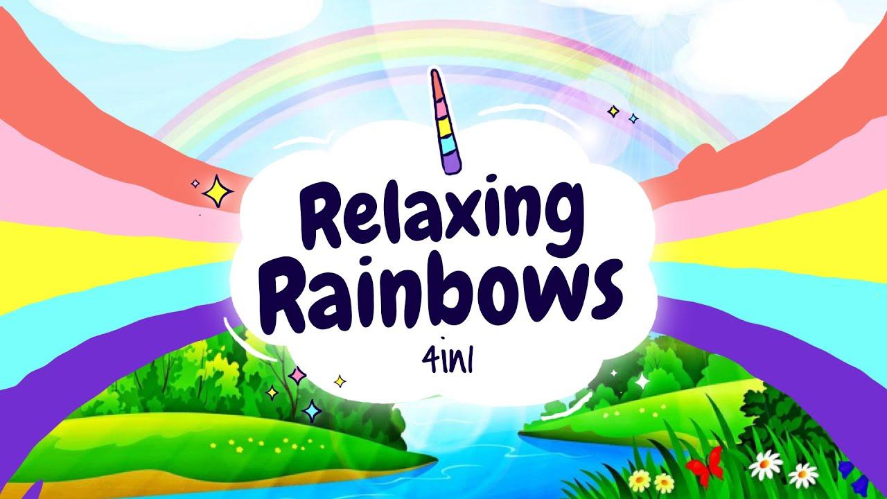 Sleep Meditation for Children | RELAXING RAINBOWS 4in1 | Sleep Story for Kids