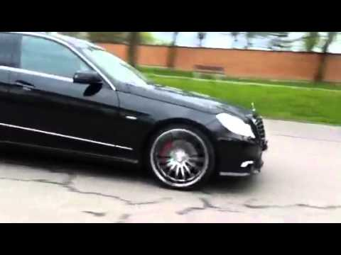 mercedes benz e 250 cdi 245 30 r20 275 25 r20 youtube. Black Bedroom Furniture Sets. Home Design Ideas
