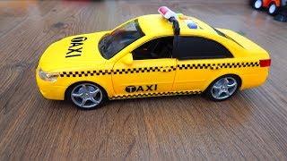 Машинки игрушки Такси Распаковка и Обзор Видео про машинки - Игрушки для детей