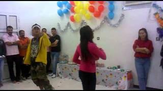 Filipino Christmas Party In Doha Carla Ft. Balikwas