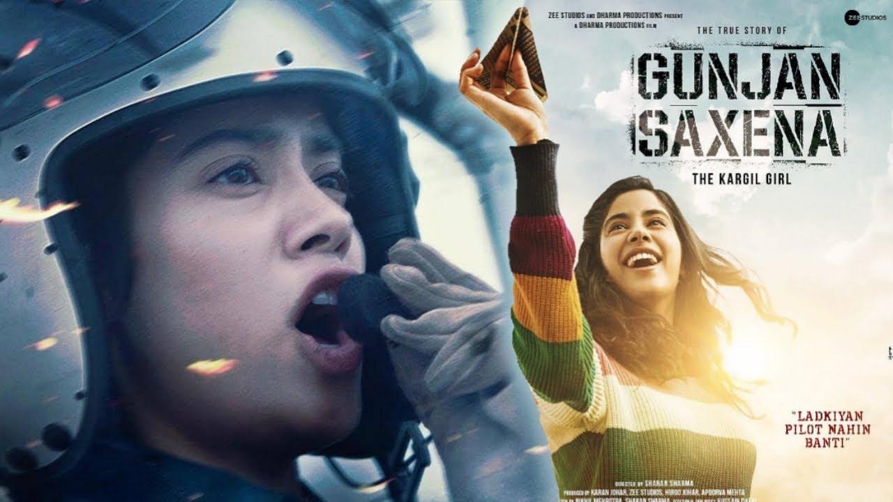 Gunjan Saxena Netflix Gunjan Sanena Ott Release Gunjan Saxena Janhvi Kapoor Trailer Out Soon Youtube