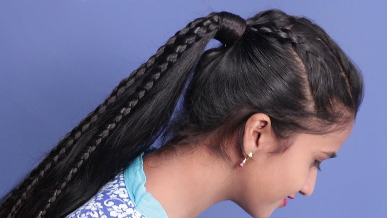 quick easy Ponytail Hairstyles High Ponytail Hairstyle ...