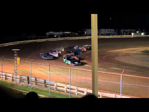 EWSC Racing Late Model B Main 1 8/17/2012