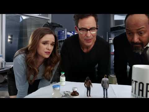 The Flash Season 4 Episode 12 (Honey, I Shrunk Team Flash) In English