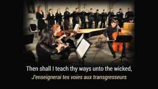 Chandos Anthem No. 3, Händel / Mouvement No. 8