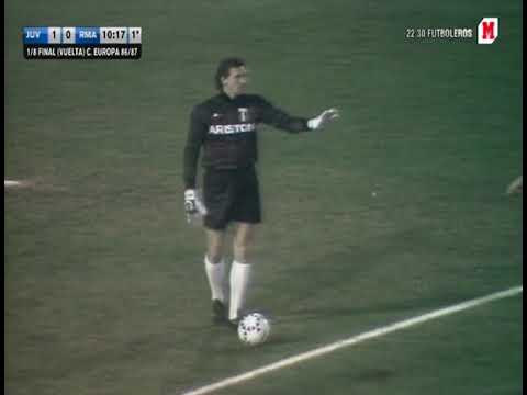 05/11/1986 Juventus v Real Madrid