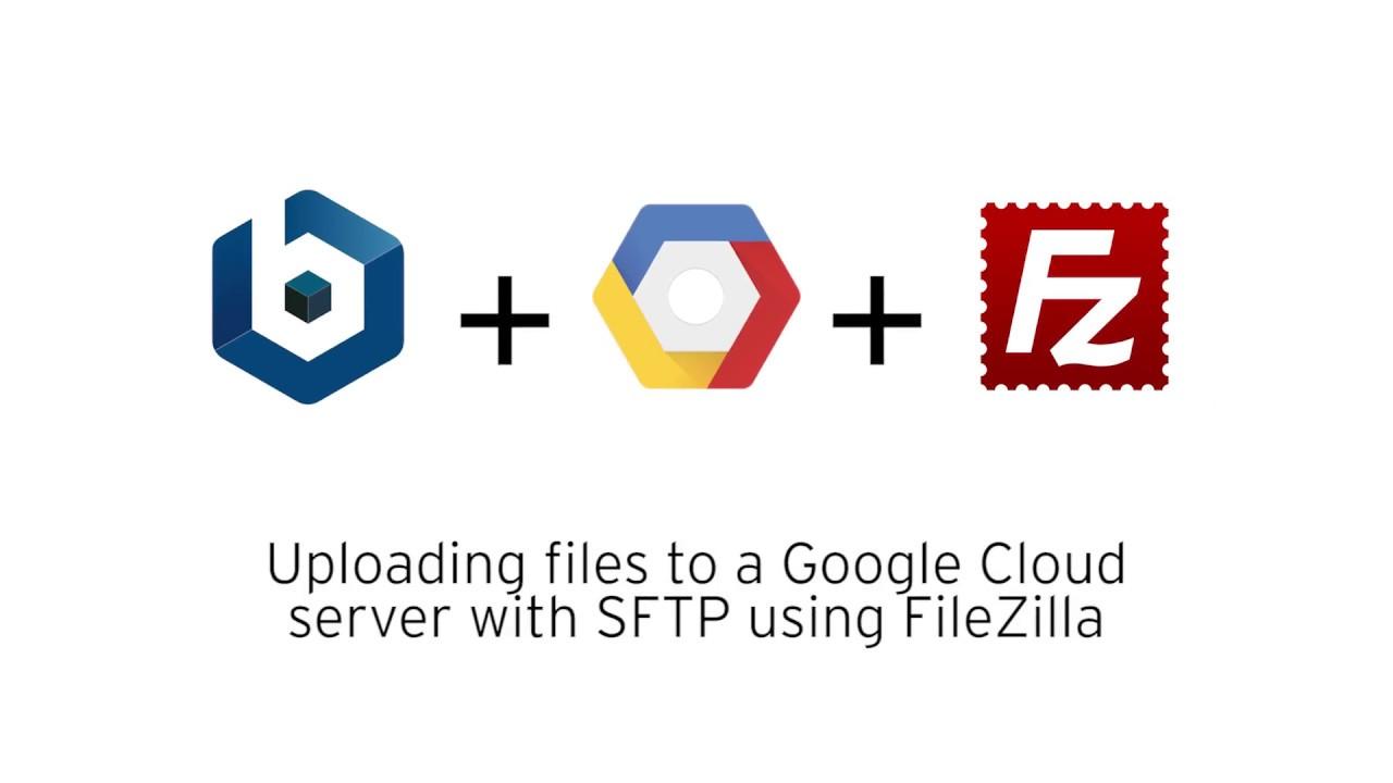 Upload files using SFTP