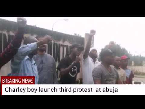 Birafra: third protest against level corruption in Nigeria by Charley boy