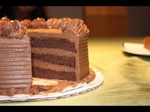 Chocolate Ganache Cake Recipe And Decoration